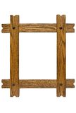 Rustic Picture Frame w/ Path Royalty Free Stock Photography