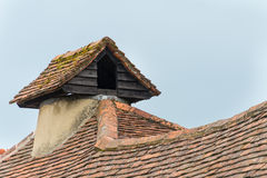 Rustic pigeon loft Stock Photo