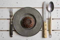 Rustic place setting Royalty Free Stock Photography