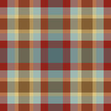 Rustic plaid Stock Image