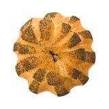 Rustic poppyseed bread Stock Photos