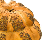 Rustic poppyseed bread Royalty Free Stock Images
