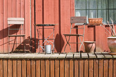 Rustic Porch Stock Images