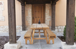 Rustic porch Royalty Free Stock Images