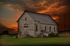 Rustic Prairie Building Stock Image