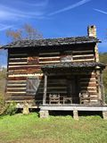 Log cabin life royalty free stock photos