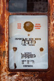 Rustic pump close up Royalty Free Stock Photos