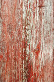 Rustic Red Barnwood Background Stock Photo