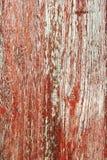 Rustic Red Barnwood Background Stock Photo