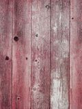 Rustic red weathered barn wood board background Stock Photo