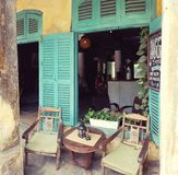 Rustic restaurant in Hoi An Royalty Free Stock Photo