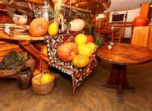 Rustic restaurant Stock Image