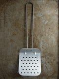 Rustic retro english antique fish slice spatula Stock Photos