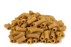 Wholemeal pasta gluten free Royalty Free Stock Photography