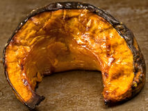 Rustic roasted pumpkins Stock Photo