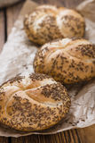 Rustic Rolls with Caraway Royalty Free Stock Image
