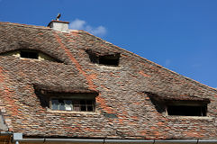 Rustic roof Royalty Free Stock Photos
