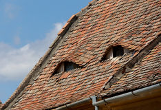 Rustic roof Royalty Free Stock Photo