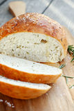Rustic Rosemary Bread Stock Photography