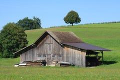 Rustic Rural Storage Barn Royalty Free Stock Image