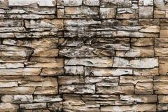 Rustic sand stone tile. Rustic sandstone tiles on the wall, Koh Phangan, Thailand Stock Image