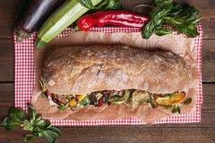 Rustic sandwich Royalty Free Stock Photo