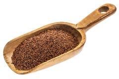 Rustic scoop of kaniwa grain Royalty Free Stock Images