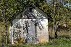 Rustic Shed in Summer Royalty Free Stock Photography
