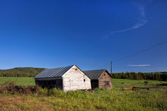 Rustic sheds. Stock Photos