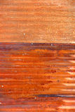 Rustic sheet metal background Royalty Free Stock Image