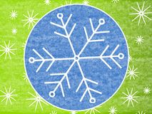 Free Rustic Snowflake Background 2 Royalty Free Stock Images - 3451189