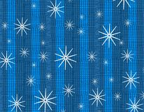 Rustic Snowflake Texture Stock Images