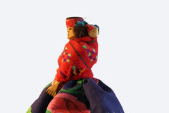 Rustic South America Souvenir Doll Royalty Free Stock Image
