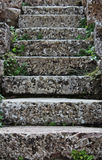 Rustic stairway Royalty Free Stock Images
