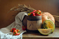 Rustic still life Royalty Free Stock Image