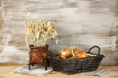 Rustic still life Stock Photos