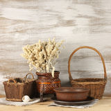 Rustic still life Royalty Free Stock Photos