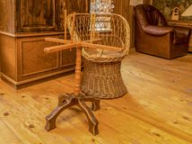 Rustic Still Life. In a wooden room in a chalet Stock Image