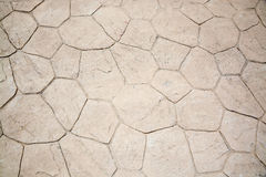 Rustic stone floor detail Stock Photo