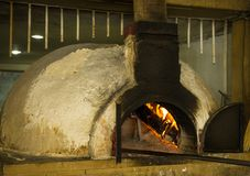 Rustic stone oven Royalty Free Stock Photo
