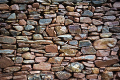 Rustic Stone Wall Stock Photo