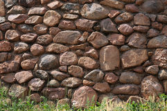 Rustic Stone Wall Background Stock Photography