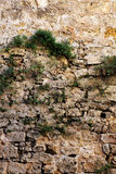A rustic stone wall, middle ages Royalty Free Stock Image