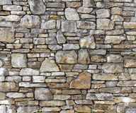 Rustic stone wall stock image