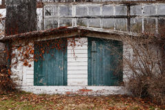 Rustic Storage Shed Stock Photography