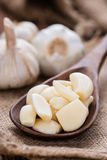 Rustic style Garlic Stock Photos