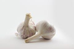 Rustic style garlic Stock Photography