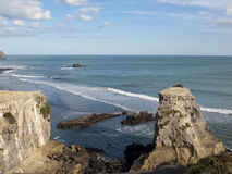 Rustic Surk at Maori Bay, New Zealand Stock Photo