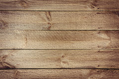 Rustic table background from horizontal wooden boards with nails. Obsolete planked table  from  horizontal wooden boards with nails Royalty Free Stock Image