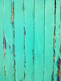 Rustic teal and blue door Royalty Free Stock Photos